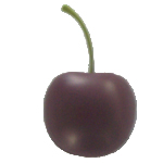 Stress ball shaped cherry  Cherry
